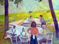 Picknick im Sommer