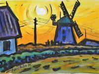 Mühle in der Heide