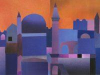 Blaue Stadt 1976